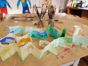 Mont XYZ d'Anne Emilie Philippe à Idem+arts