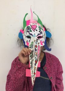 atelier enfants masques Idem+arts