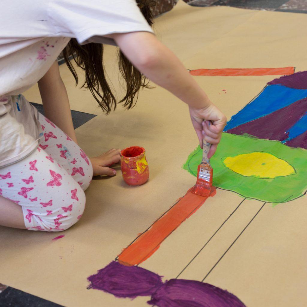 atelier enfant à Idem+arts