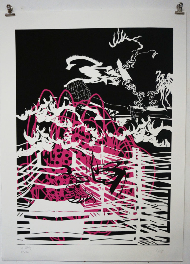 Idem+arts sérigraphie Aymeric Pihéry