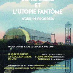 Affiche Bananalab et l'Utopie fantome (1)